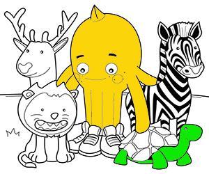 Dibuixos per pintar de Animals