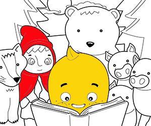 Dibuixos per pintar de Contes infantils