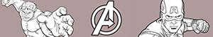 Pintar Avengers. Els Venjadors